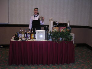 catered bar